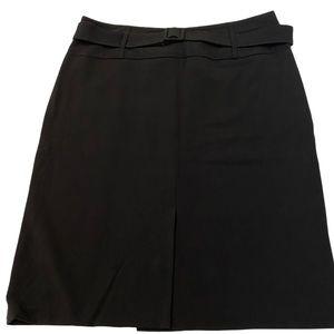 NINETY Black Knee Length Dressy Skirt 12